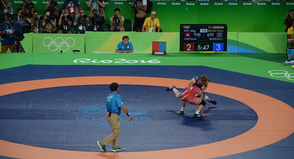 Представительница сборной Азербайджана Юлия Раткевич одолела впервой схватке вРио