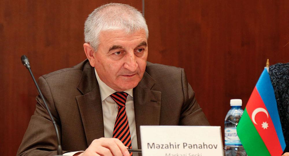 Мазаир Панахов, председатель ЦИК Азербайджана