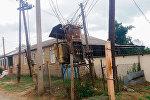 Qazax rayonunun Qarapapaq kəndində elektrik transformator