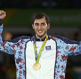 Радик Исаев – обладатель золотой медали XXXI Олимпийских игр