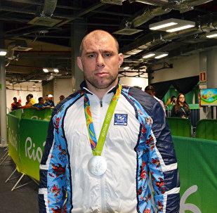 Серебряный призер Летних Олимпийских игр 2016 Хетаг Газюмов