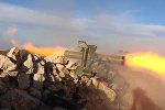 """Сирийские солдаты обстреливали боевиков из комплексов """"Конкурс-М"""" в Кобани"""