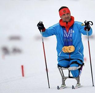 Российский паралимпиец Роман Петушков