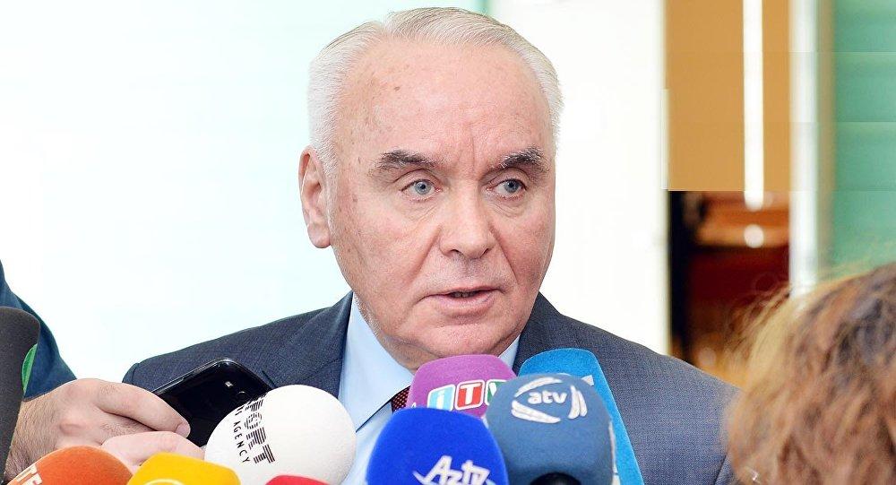Заместитель министра иностранных дел Азербайджана Махмуд Мамедгулиев, фото из архива