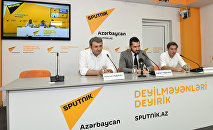 Видеомост Баку-Астана-Минск на тему Перспективы развития туризма в Азербайджане и СНГ
