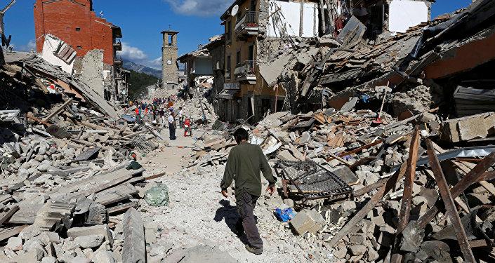 Землетрясение вИталии забрало жизни 14 человек