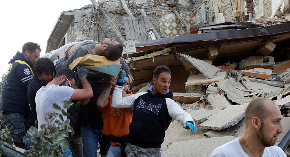 Землетрясение вИталии забрало жизни 38 человек