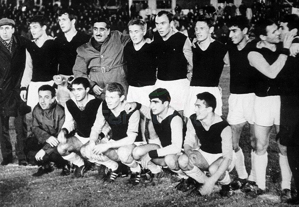 Нефтяник (Баку), 1966 год