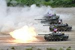 Cənubi Koreya və ABŞ-ın birgə hərbi təlimi