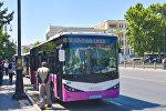 Автобус в Баку. Архивное фото