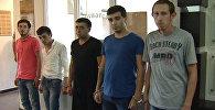 Члены преступной группировки, обвиняемые в убийстве Эльнура Гумбатова