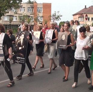 Марш живых в память о Холокосте прошел в Литве