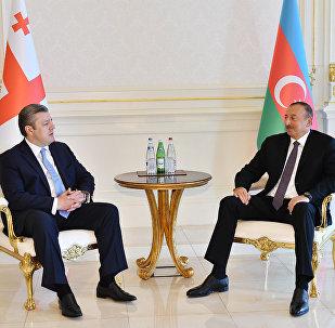 Ильхам Алиев принял премьер-министра Грузии Георгия Квирикашвили