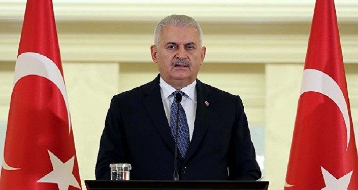 Türkiyənin baş nazir Binəli Yıldırım