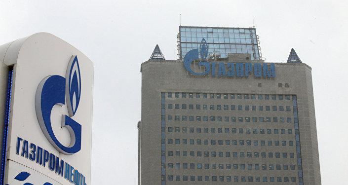 Офисное здание компании Газпром в Москве, фото из архива