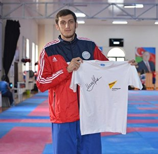 Олимпийский чемпион Рио-2016, тхэквондист Радик Исаев