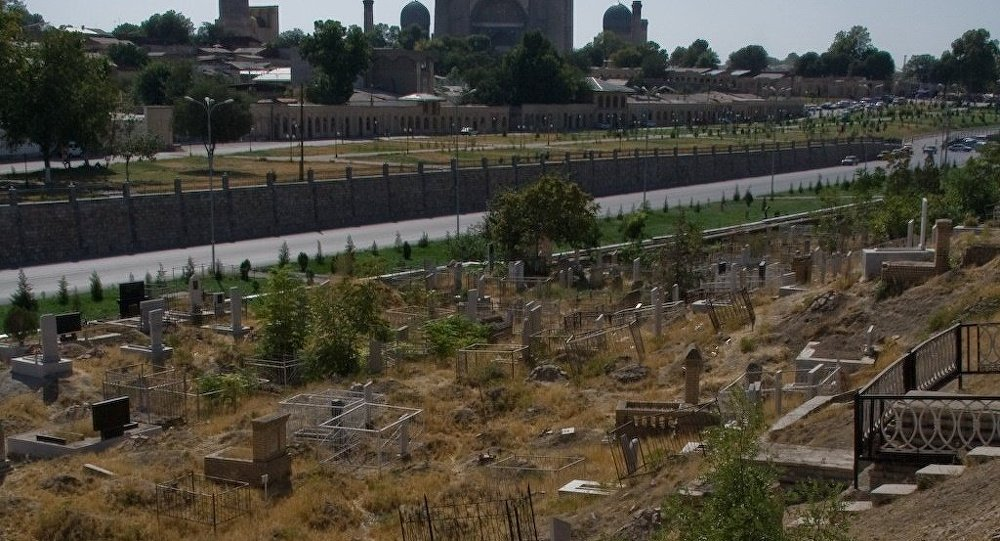 Кладбище Шахи Зинда в Самарканде