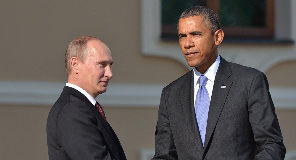 Путин иОбама непожали друг другу руки насаммите G20