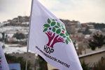 HDP partiyasının bayrağı