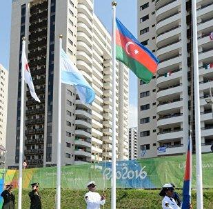 В Паралимпийской деревне в Рио подняли флаг Азербайджана