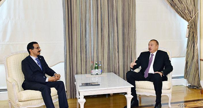 """İlham Əliyev """"DP World"""" şirkətlər qrupunun sədrini qəbul edib"""