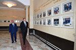 İlham Əliyev Heydər Əliyev Mərkəzinin yeni binasının açılışında iştirak edib