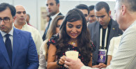 Лейла Алиева на Шахматной олимпиаде - 6 тур Всемирной шахматной олимпиады в Баку