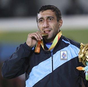 Золотой медалист XV Летних Паралимпийских игр Рамиль Гасымов