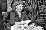 Английская писательница Агата Кристи