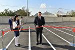 İlham Əliyev Bakıdakı 311 nömrəli orta məktəbin yeni binasının açılışında iştirak edib