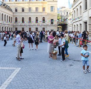 День знаний в образовательном комплексе №132-134 города Баку