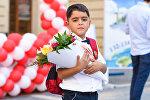День знаний в образовательном комплексе №132-134 города Баку, фото из архива