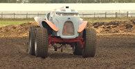 Под Рязанью прошли испытания беспилотного трактора Агробот