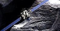 Пролёт зонда Розетта близ кометы