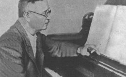 Выдающийся азербайджанский композитор Узеир Гаджибеков