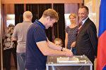 Выборы в Государственную Думу Российской Федерации в посольстве России в Азербайджане
