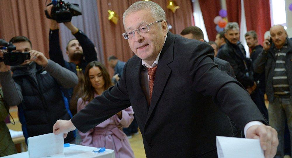 RLDP-nin lideri Vladimir Jirinpovski