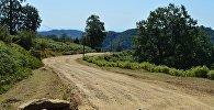 Дорога в одно из высокогорных сел Астаринского района. Архивное фото