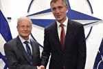 İsrail səfiri NATO-nun baş katibinə etimadnaməsini təqdim etdi