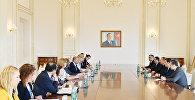 İlham Əliyev Avropa İttifaqı-Azərbaycan Parlament Əməkdaşlıq Komitəsinin nümayəndə heyətini qəbul edib