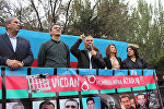 """Milli Şuranın 11 və 17 sentyabr tarixində """"Məhsul"""" stadionunda keçirdiyi mitinqlərdən kadrlar"""