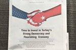 ABŞ mediasında Türkiyə ilə bağlı çağırış