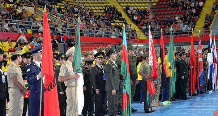 Azərbaycanın sərbəst güləşçisi Ağahüseyn Mustafayev güləş üzrə hərbçilərin 31-ci dünya çempionatının qızıl medalını qazanıb