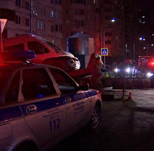 ГИБДД эвакуировала автомобили с места крушения Ми-8 МЧС РФ