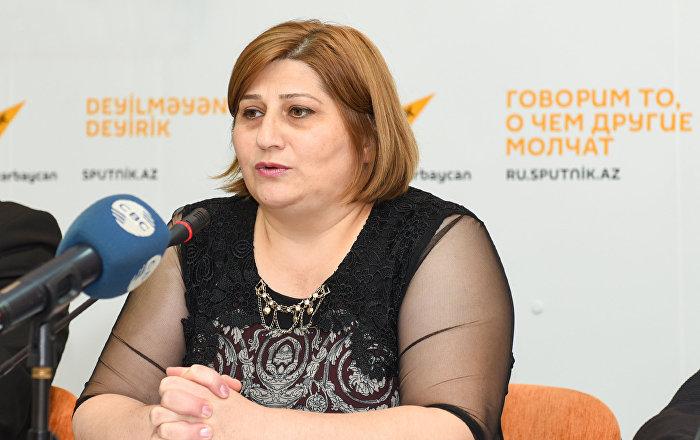 Qadın Liderliyi Uğrunda İctimai Birliyinin sədri Ülkər Abdullayeva