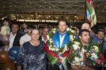 Paralimpiyaçılarımızın tənənəli qayıdışı