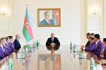 İlham Əliyev XV Yay Paralimpiya Oyunlarında iştirak etmiş idmançılarla görüşüb