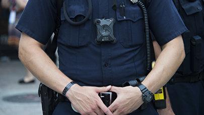 Офицер полиции США, архивное фото