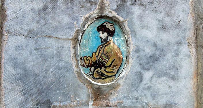 Изображение Хаджи-Мурата на надгробии