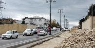 Ремонт дороги в Баку, фото из архива